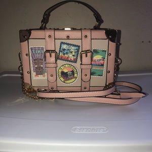 Aldo train case handbag